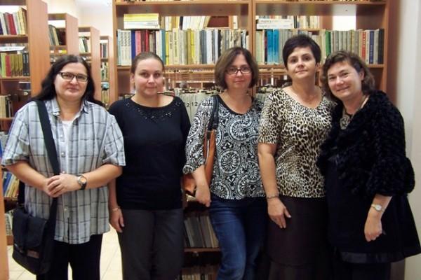 Helena Maksiewicz, Małgorzata Schroeder, Beata Gołub, Anna Siemienkowicz, Maryla Boćkowska