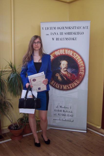 Agata Łochnicka, kl. II c