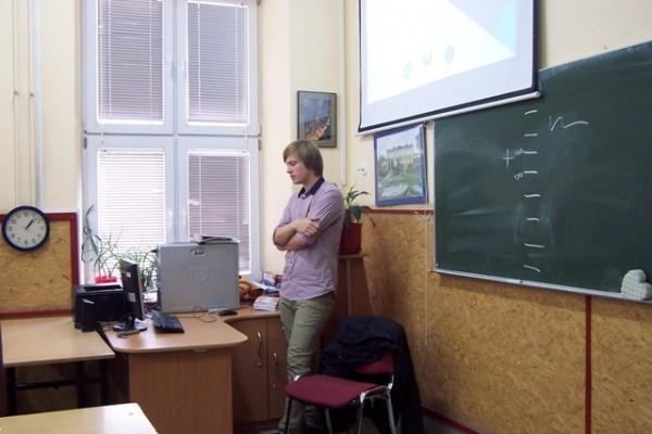 Pan Mateusz Bondar – student Uniwersytetu Medycznego w Białymstoku