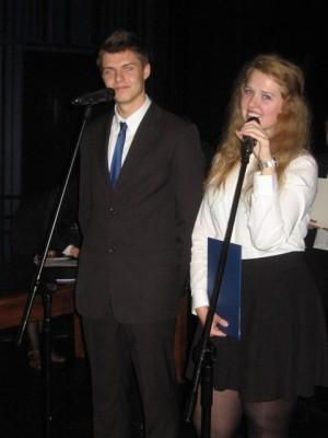 Marek Twarowski i Aleksandra Wróblewska, ucz. kl. III g