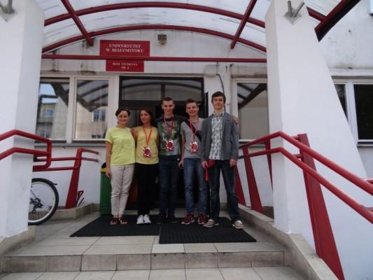 Nasza delegacja - p. Iwona Waszczuk, Kinga Truszkowska, Stephen Morawski, Bartosz Świeńciński, Marcin Zinówko