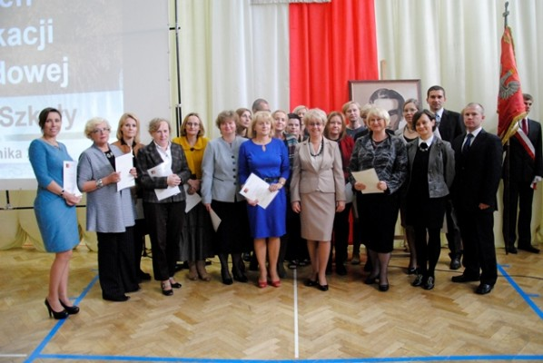 Nauczyciele, którzy otrzymali nagrodę dyrektora szkoły