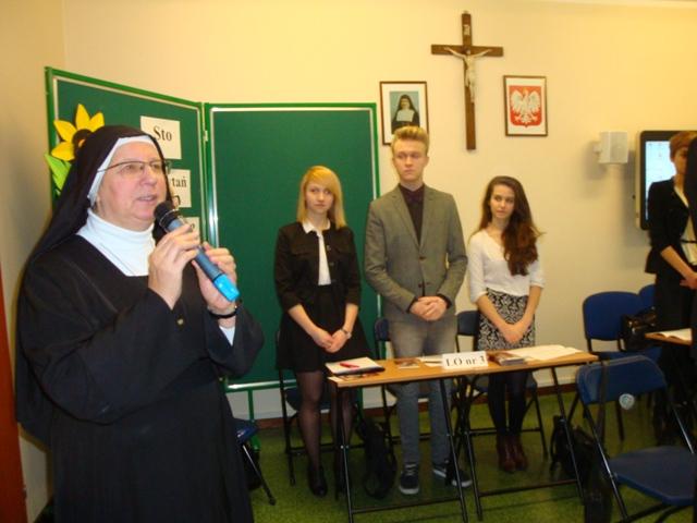 Pani Dyrektor s. Emanuela Marianna Szefel, Marta Błażewicz, Mateusz Zarzecki, Katarzyna Suszczyńska