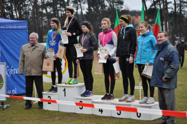 Barbara Skrzypko na podium - 3 miejsce