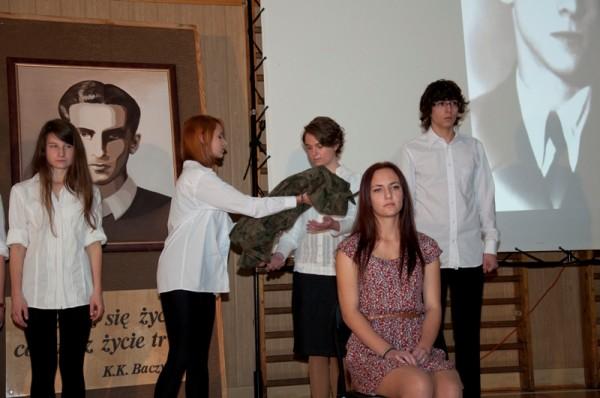 Emilia Żemojda, ucz. kl. I g w roli Barbary Baczyńskiej