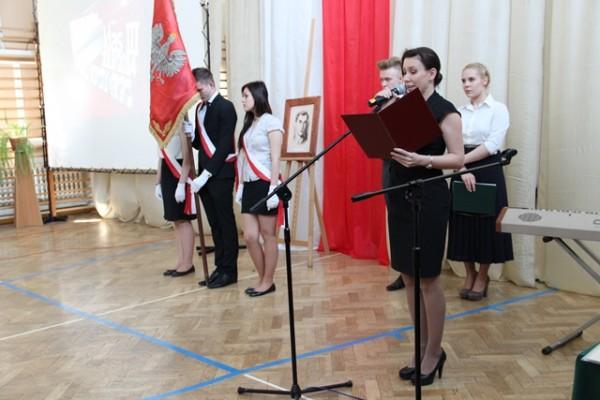 Głos zabiera Pani Wicedyrektor Barbara Kalinowska