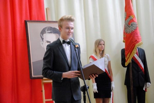 Mateusz Zarzecki – przewodniczący Samorządu Uczniowskiego