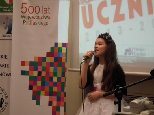 """Piosenkę Anny German """"Eurydyki tańczące"""" wykonała młoda zdolna wokalistka"""