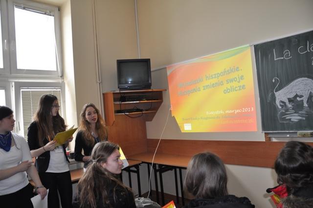 Prezentacja klasy hiszpańskiej