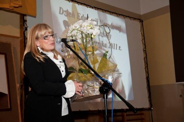 Pani Maria Stepaniuk – Przewodnicząca Rady Rodziców