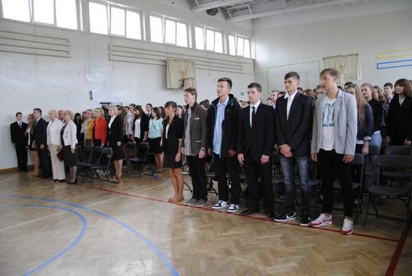 Uczniowie III Liceum Ogólnokształcącego im. K.K. Baczyńskiego w Białymstoku