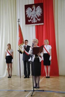 Małgorzata Górniak – Dyrektor III Liceum Ogólnokształcącego im. K.K. Baczyńskiego w Białymstoku