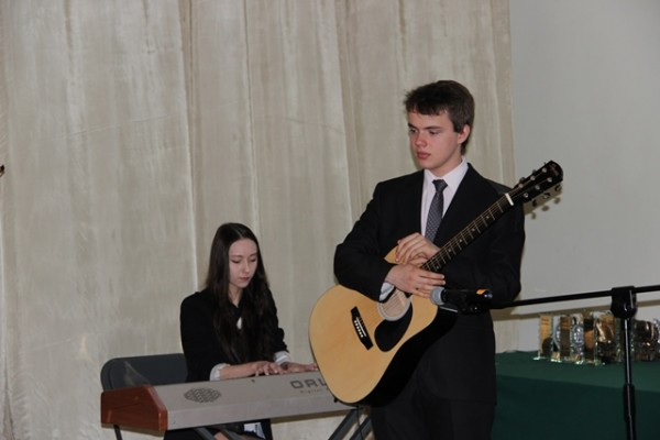 Marta Franciszkiewicz i Maksymilian Michalski z kl. II a