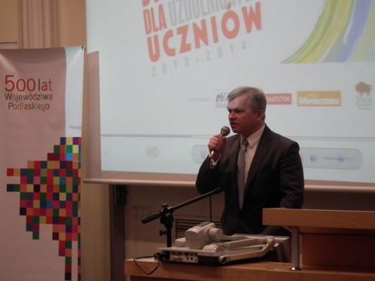 Jacek Piorunek – członek Zarządu Województwa Podlaskiego