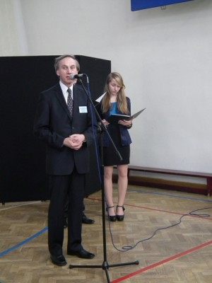 Pan Adam Borysiewicz – opiekun Klubu Integracji Europejskiej im. Konrada Adenauera