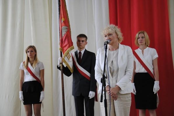 Pani Małgorzata Głódź-Tylutka – Przewodnicząca Rady Rodziców przy III LO