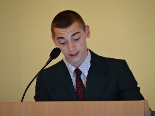 Stephen Morawski - mowa obronna dotycząca rezolucji przygotowanej przez jego komitet
