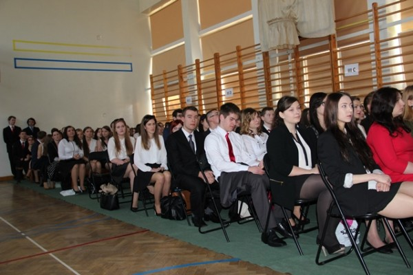 Uczniowie klas III
