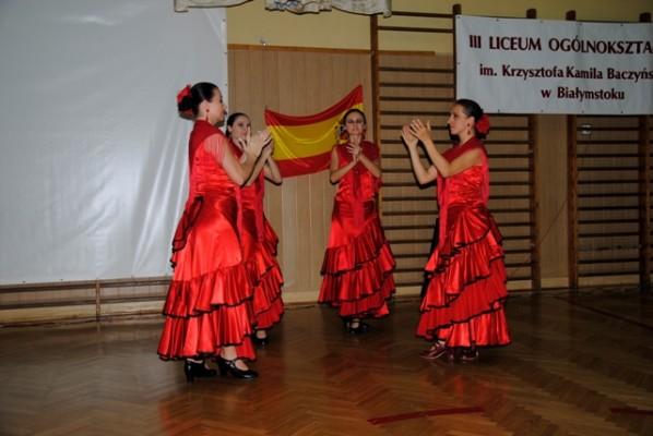 Zespół flamenco Rada Dance Art  - Aneta Boćwińska-Bartoszuk, Radosława Bogusławska, Sylwia Kozłowska, Karolina Rzemieniecka