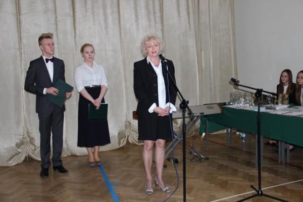 Małgorzata Głodź-Tylutka - Przewodnicząca Prezydium Rady Rodziców