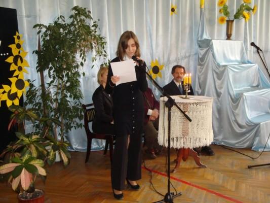 Agnieszka Ruczaj zaprezentowała swoje nagrodzone wiersze