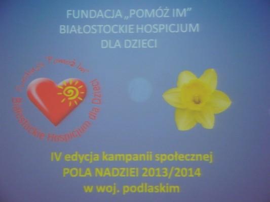 """IV edycja kampanii społecznej """"Pola Nadziei"""""""