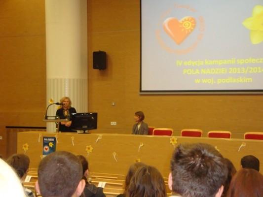 Uroczystości w Centrum Dydaktyczno-Naukowym Wydziału Nauk o Zdrowiu Uniwersytetu Medycznego  w Białymstoku