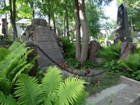 Grób ojca Juliusza Słowackiego na Rossie