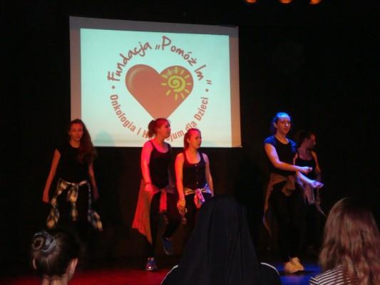 Grupa taneczna z VII LO w Białymstoku