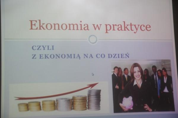 """Warsztaty """"Ekonomia w praktyce"""""""