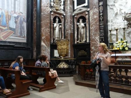 Kaplica św. Kazimierza w Wilnie- kazalnica Piotra Skargi