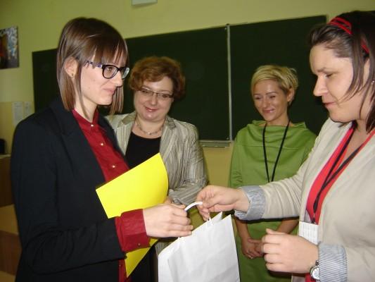 Marta Pasławska otrzymała wyróżnienie