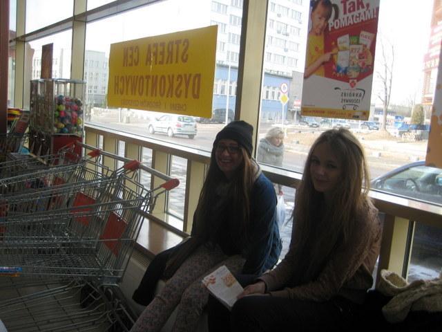 Paulina Hryniewicka i Miriam Markiewicz - kl. Ig