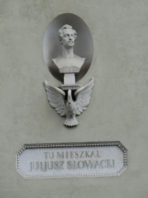 Popiersie J.Słowackiego