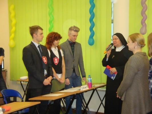 Siostra dyrektor Emanuela Marianna Szefel powitała uczestników spotkania