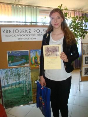 Sylwia Truszkowska nagrodzona w konkursie