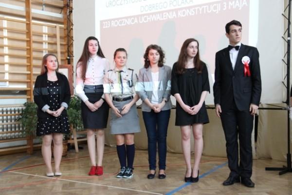 Uczniowie nominowani do Nagrody Dobrego Polaka 2014