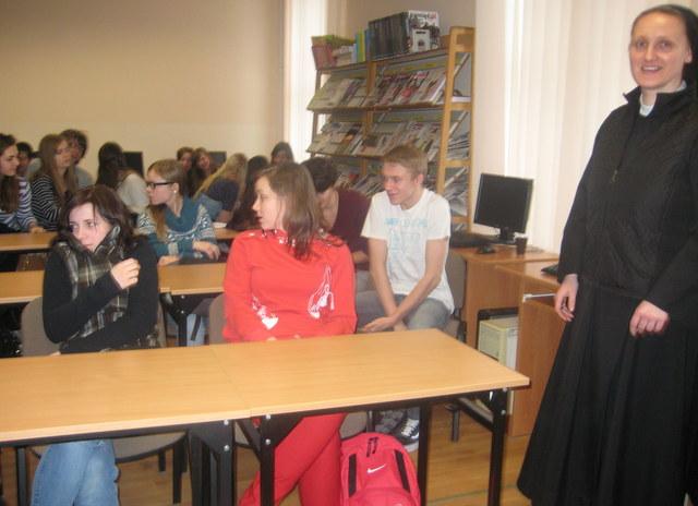 Uczniowie z klasy Ie i I f