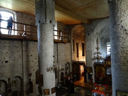 Wnętrze cerkwi kołożskiej