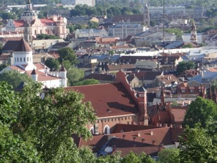 Zaułek gotycki w Wilnie