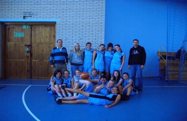 Reprezentacja III LO w koszykówce dziewcząt