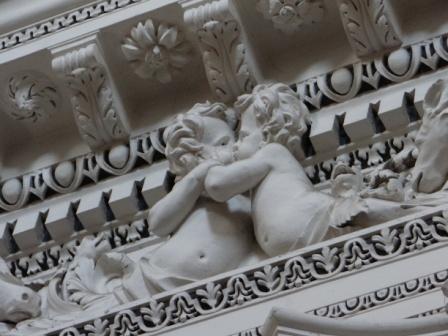 Fryz w kościele św. Piotra i Pawła