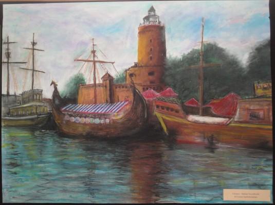 Nagrodzona praca Damiana Toczydłowskiego