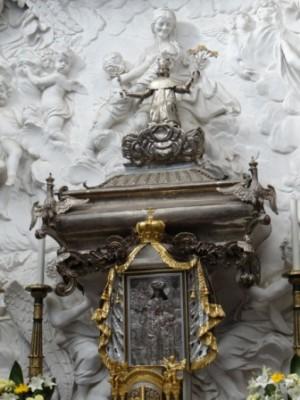 Relikwiarz św. Kazimierza, patrona Litwy